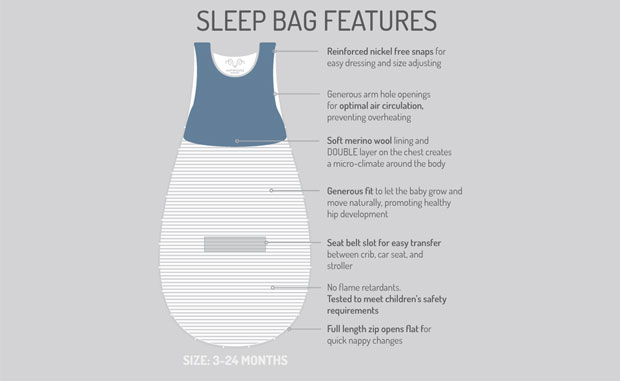 Review & Giveaway: Antipodes Merino Baby Sleeping Bag A Mum Reviews