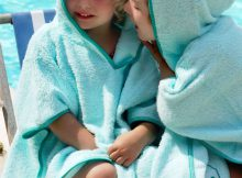 Cuddledry's SPF 50+ Poncho Towel Review - Keep Kids Safe in the Sun A Mum Reviews