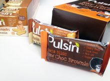 Pulsin Vegan Protein Bars - Maple & Peanut and Raw Choc Brownie A Mum Reviews