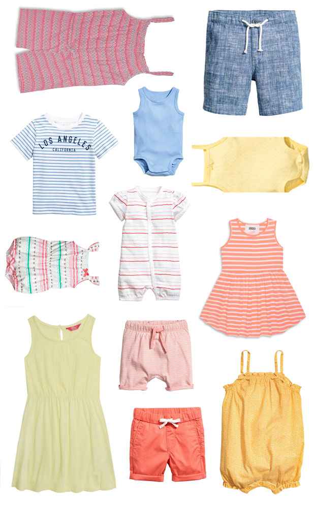 How to Dress Babies, Toddlers & Young Kids in The Heat A Mum Reviews