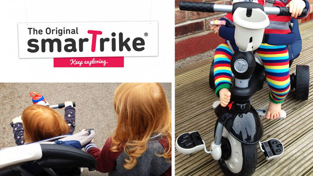 smarTrike 5-in-1 Recliner Infinity Tricycle Review A Mum Reviews