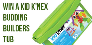Win a KID K'NEX Budding Builders Tub!