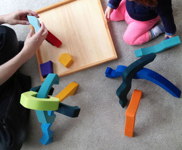 Review: Grimm's 4 Elements Large Building Set from 100 Toys A Mum Reviews