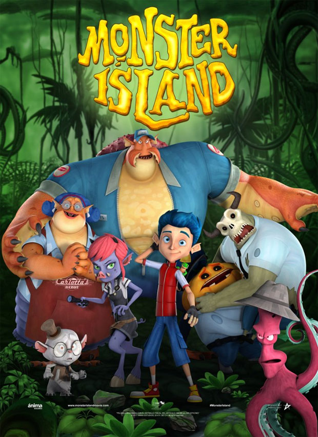 Monster Island - In Cinemas Today!