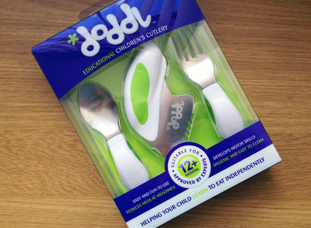 Doddl Toddler Cutlery Review - Revolutionary Children's Cutlery A Mum Reviews