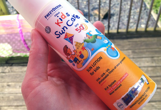 FrezyDerm Kids Sun Cream Review - Kids Sun Care SPF 50+ A Mum Reviews