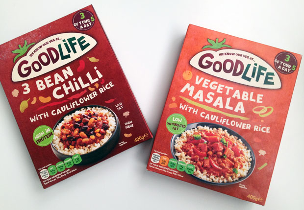 Goodlife Vegetarian Meals Review - 3 Bean Chilli & Vegetable Masala A Mum Reviews