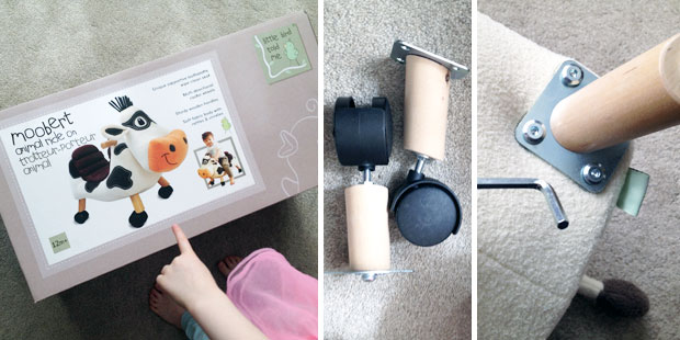 Little Bird Told Me Moobert Ride On Cow Review | The Rocking Horse A Mum Reviews