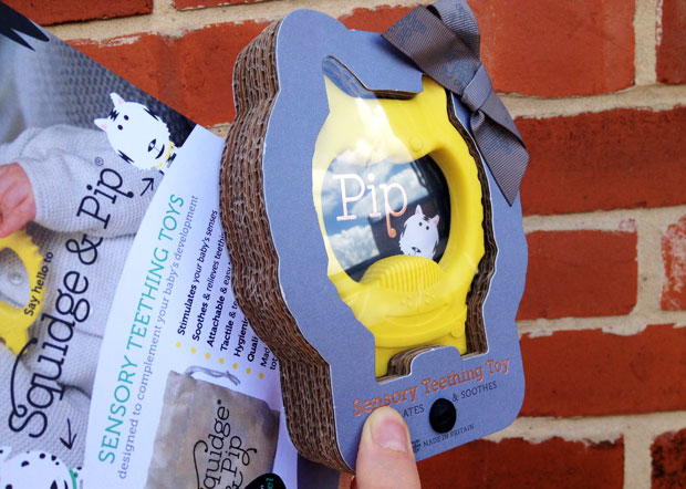 Review & Giveaway: Squidge & Pip Sensory Teething Toys A Mum Reviews