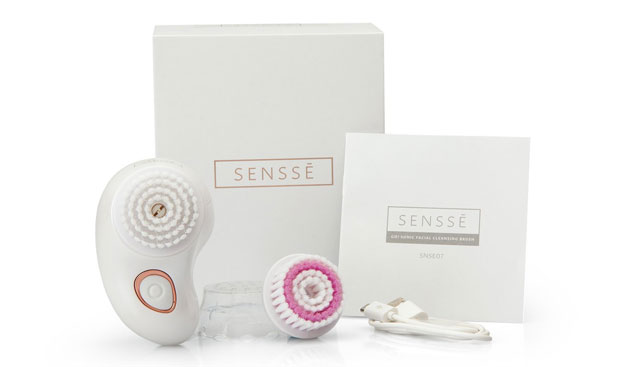 SENSSE Go! Mini Sonic Facial Cleansing Brush and Exfoliator A Mum Reviews