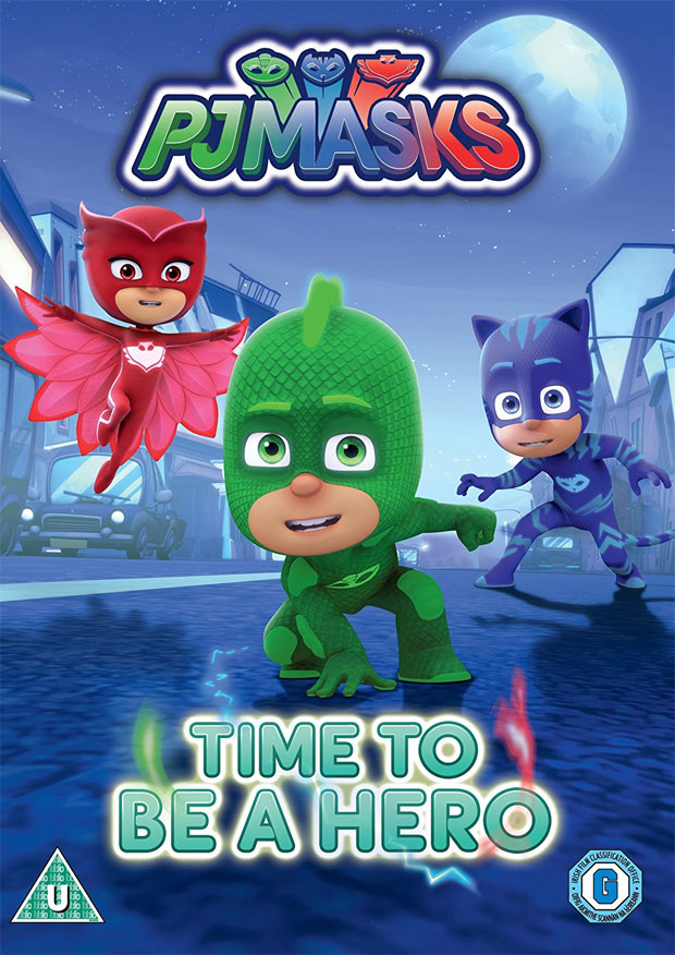 PJ Masks – Time to be a Hero DVD Review A Mum Reviews