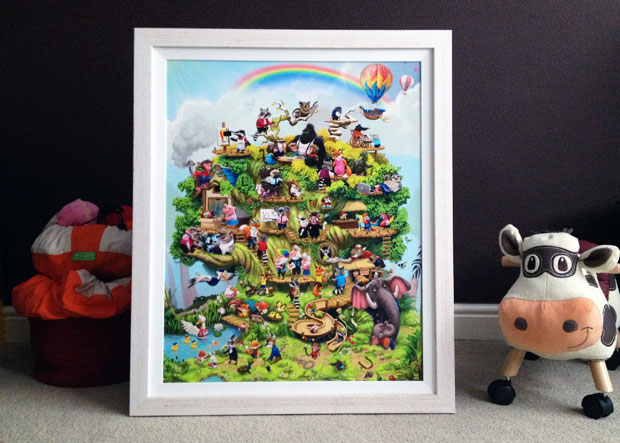 The Life Tree Review – Amazing & Magical Personalised Artwork A Mum Reviews