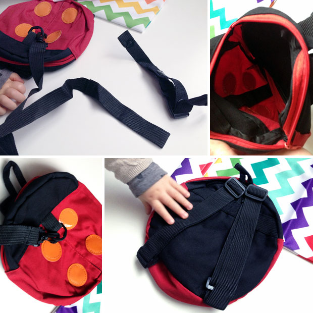 Daisy & Baby | Toddler Backpack with Reins & Wet Bag ...