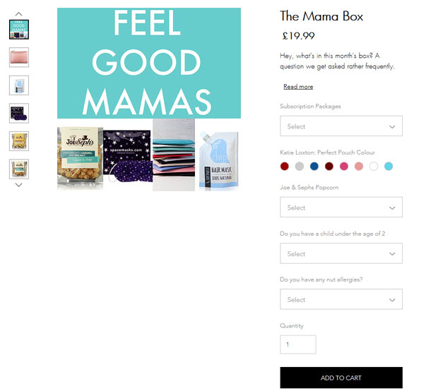 Feel Good Mamas Subscription Box Review + Giveaway | The Mama Box A Mum Reviews