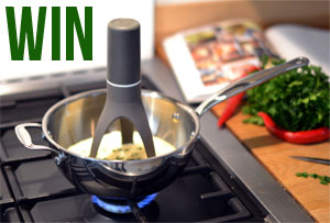 Win a Stirr Automatic Pan Stirrer!