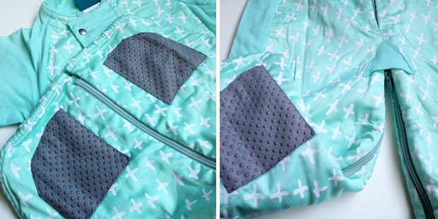 ergoPouch Spring/Autumn Sleep Suit Bag Review - 1.0 tog A Mum Reviews