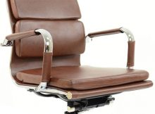 A New Office Chair   The Chester Padded Office Chair Vintage Brown A Mum Reviews
