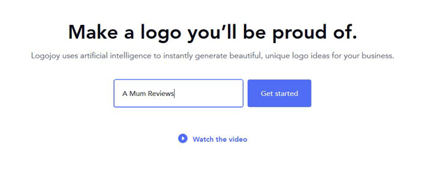 Create A Professional Business Logo in Minutes - Logojoy Review A Mum Reviews