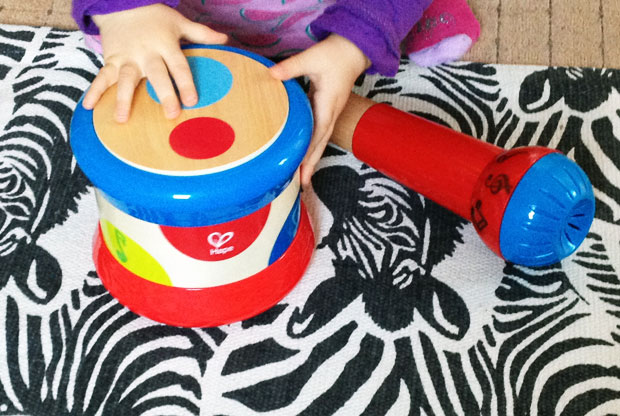 Hape Mighty Echo Microphone & Baby Drum Review A Mum Reviews