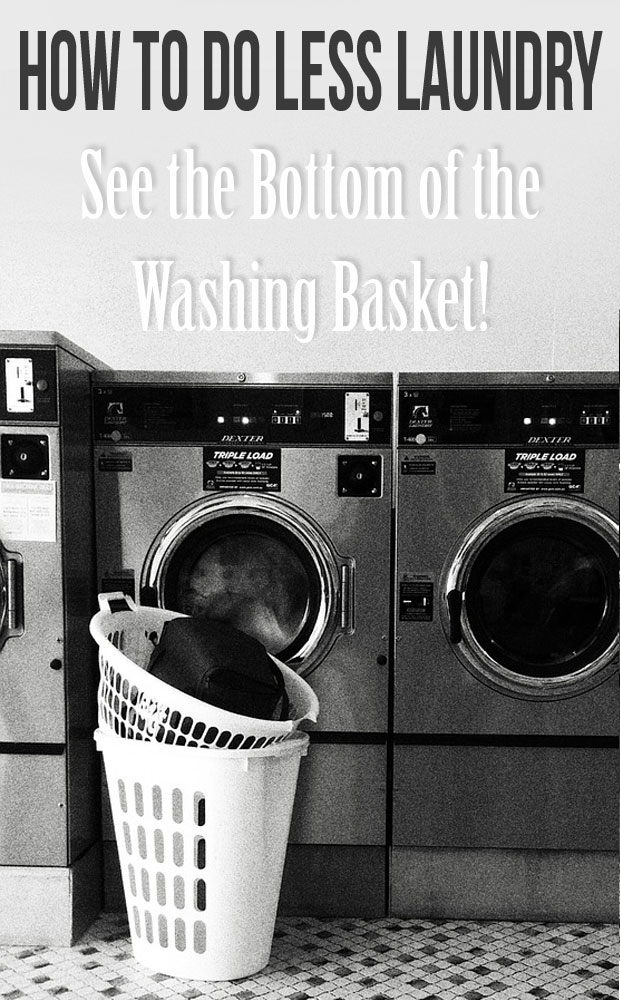 How to Do Less Laundry – See the Bottom of the Washing Basket! A Mum Reviews