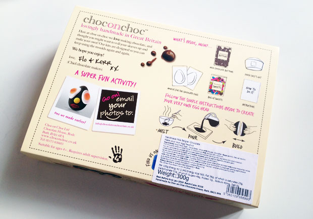 Choc On Choc Melt & Make Your Own Chocolate Egg Kit Review A Mum Reviews