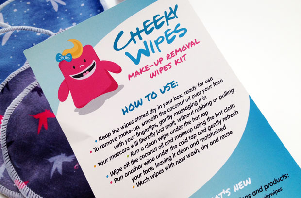 Cheeky Wipes Make-Up Removal Kit Review - Zero Waste Face Wipes A Mum Reviews