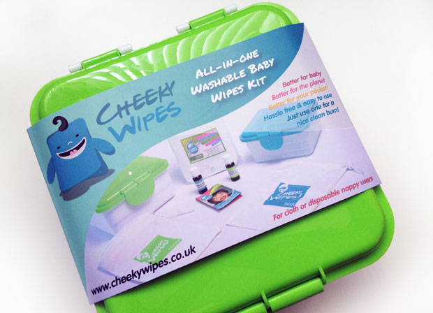 Cheeky Wipes Reusable Baby Wipes All-In-One Kit Review + Giveaway A Mum Reviews