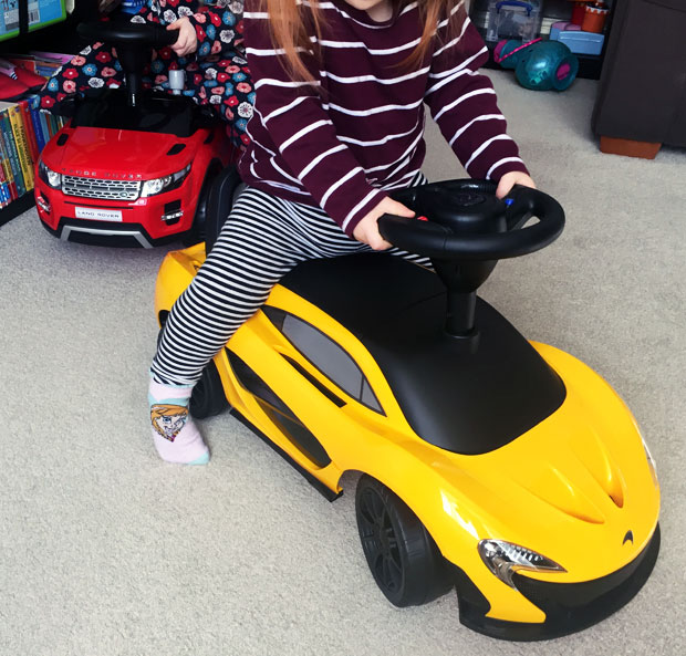 Children's McLaren P1 & Range Rover Evoque Ride On Cars Review A Mum Reviews