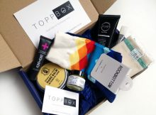 March 2018 TOPPBOX Men's Grooming & Skincare Subscription A Mum Reviews