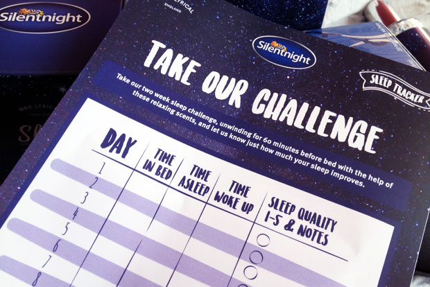 The Two-Week Sleep Challenge With Silentnight Wax Lyrical A Mum Reviews
