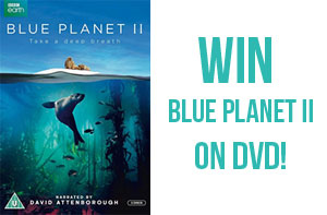 Win Blue Planet II on DVD!