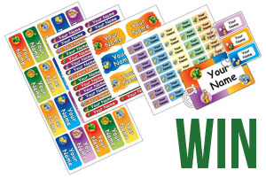 Win a School Pack of Name Labels!