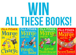 Win All Four Books of Marge in Charge by Isla Fisher!