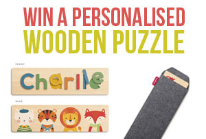 Win a Personalised Name Puzzle from Tinyme!