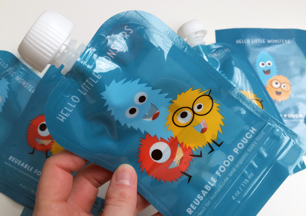 Hello Little Monsters Reusable Baby Food Pouches Review + Giveaway A Mum Reviews