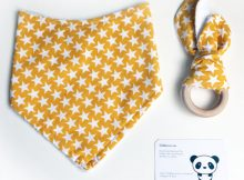 Slobberscarves Dribble Bib & Teether Review & Giveaway A Mum Reviews