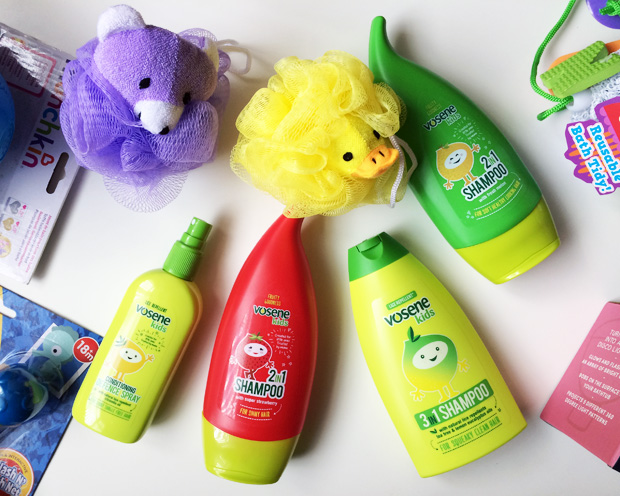 Vosene Kids Review - Fruity Goodness & Squeaky Clean Ranges A Mum Reviews