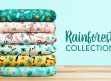 #ClothNappyMonday - Bambino Mio's New Rainforest Collection A Mum Reviews