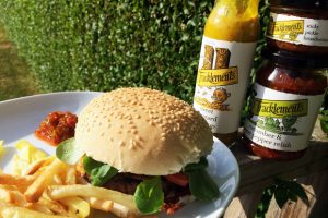 Perfect Burgers - The Sauces Make the Difference. With Tracklements A Mum Reviews