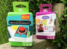 Shuffle Card Games Review | Trivial Pursuit & Frozen A Mum Reviews