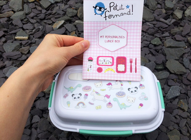 Personalised Lunch Box, Bottle & School Labels from Petit-Fernand A Mum Reviews