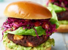 Recipe: Black Bean, Beetroot and Feta Burgers with Mango Slaw A Mum Reviews