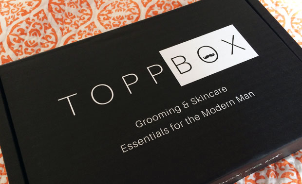 September 2018 TOPPBOX Men's Grooming & Skincare Subscription A Mum Reviews