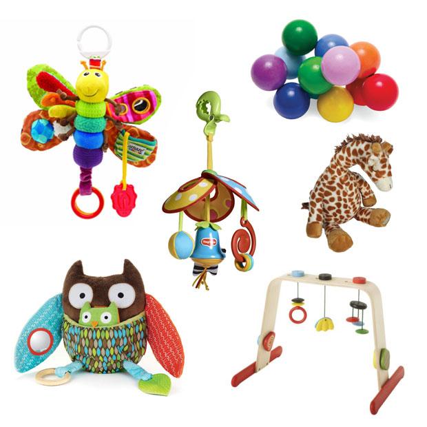 a mum reviews best toys 0-6 months