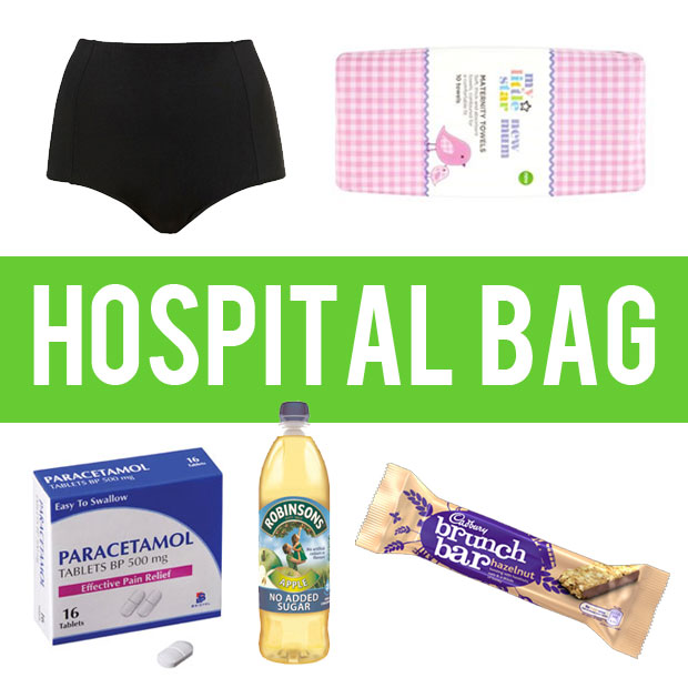 a mum reviews hospital bag what I actually used