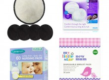 a mum reviews Reusable Breast Pads and Disposable Breast Pads - Comparison and Review