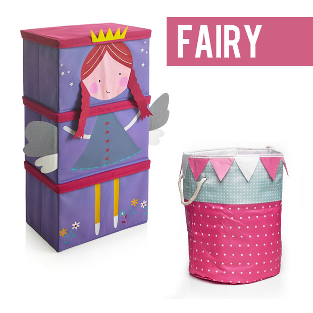 Wilko Kids Fabric Toy Storage News and Review a mum reviews fairy