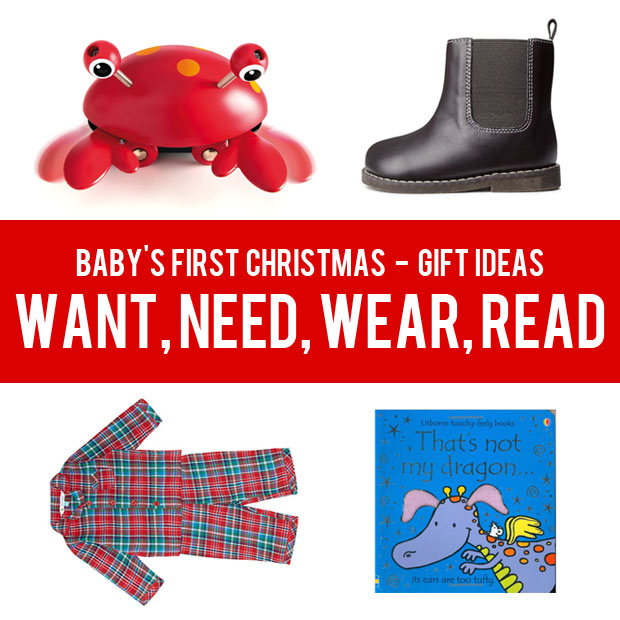 Babys First Christmas Gifts: Baby's First Christmas Gift Ideas
