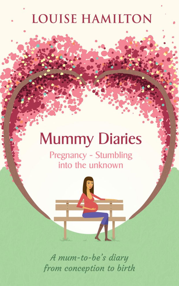 Book Review: Mummy Diaries: Pregnancy - Stumbling into the unknown by Louise Hamilton