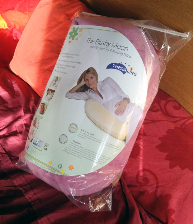 Theraline Plushy Moon Maternity & Nursing Pillow Review A Mum Reviews